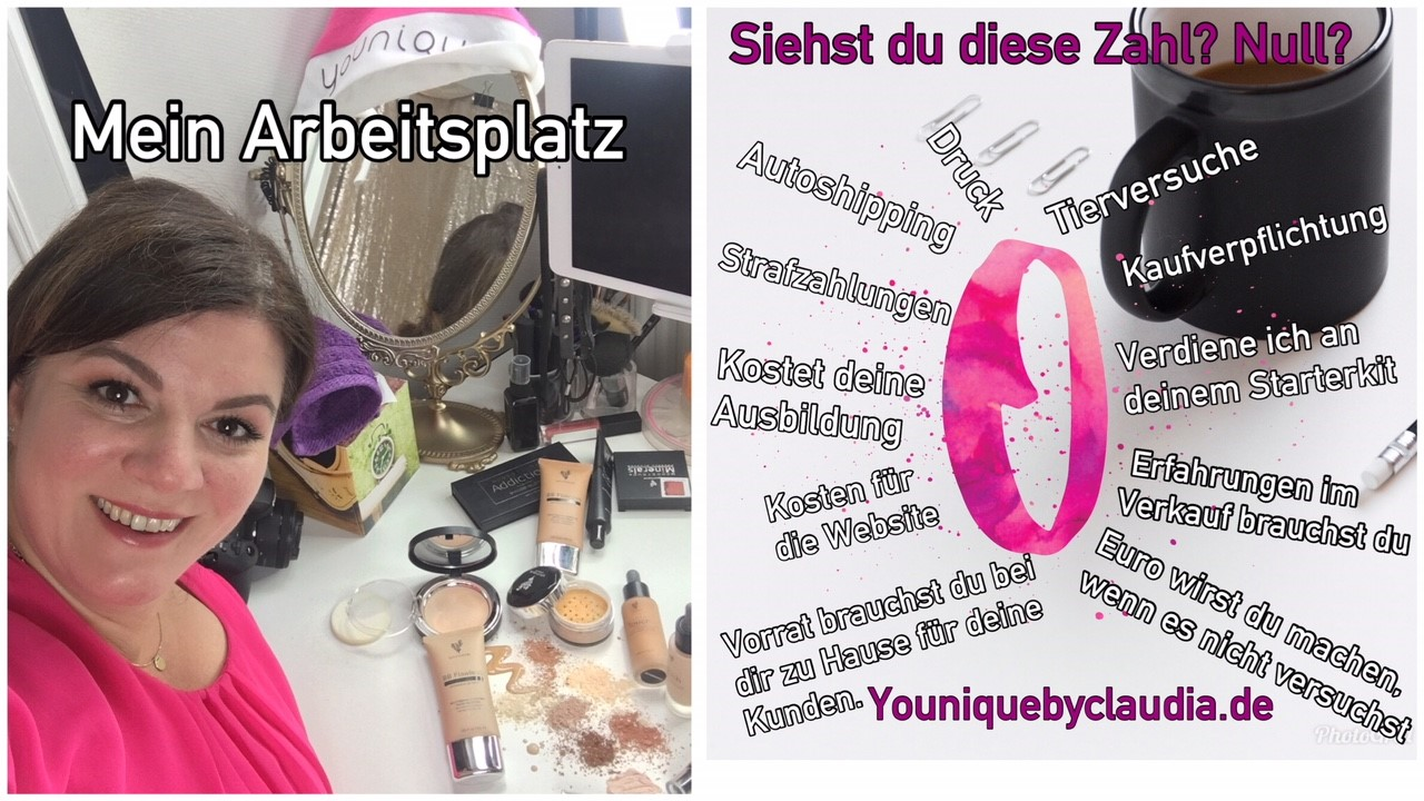 arbeitsplatz younique