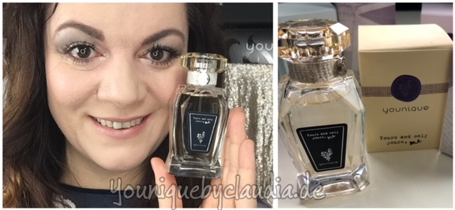 Younique Parfum Yours and only yours me gelb Erfahrungsbericht1