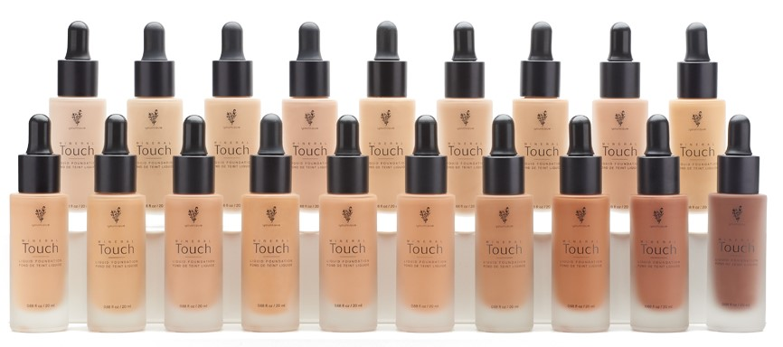 Younique Touch Liquid Foundation 19 Farben
